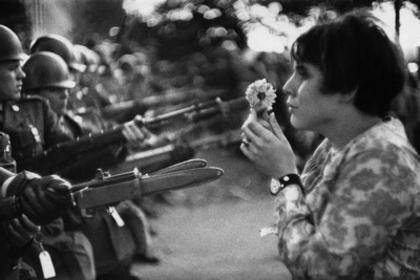 "Marc RIBOUD ""The young girl with a flower, 50 years later"""