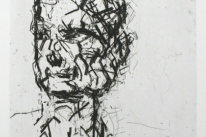 Frank Auerbach and Leon Kossoff Etchings