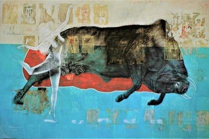 """A Shadow's Dream on a Wall"" by Shadi AbouSada"