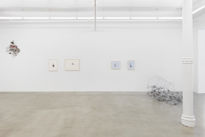 Sculpture: Works by Nahum Tevet, Richard Long, Alan Saret