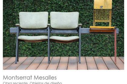 Montserrat Mesalles : obras reciente y objetos de diseño