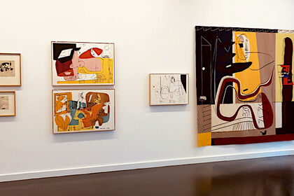 Le Corbusier, the Artist –Works from Six Decades