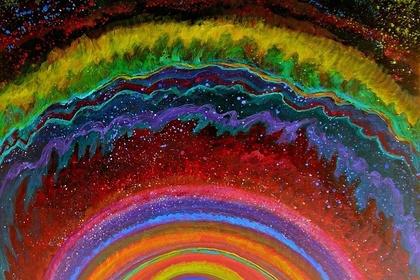 Thelma Appel: Cosmic Dance Series of Paintings