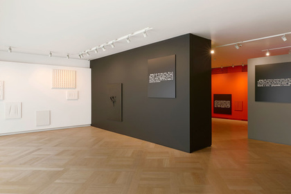 Colour in Contextual Play - An installation by Joseph Kosuth