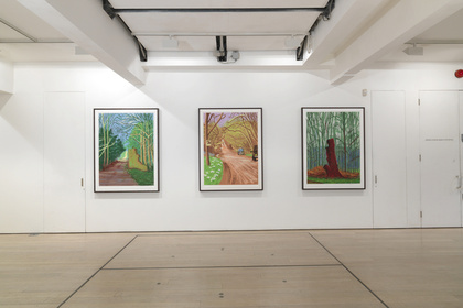 David Hockney, Digital Drawings