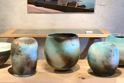 STILL LIGHT new paintings by Alex Lowery, soda-fired porcelain by Jack Doherty, steam bent furniture by Petter Southall