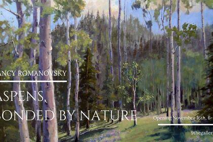 Nancy Romanovsky: Aspens, Bonded by Nature