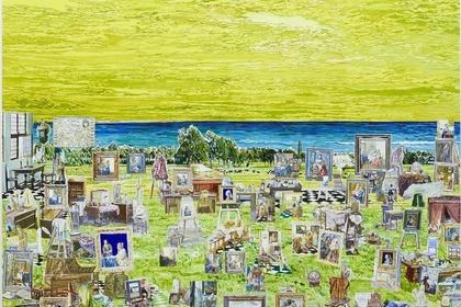 "TORU KUWAKUBO ""A Calendar for Painters Without Time Sense 1. 3. 4. 5. 7. 8"""