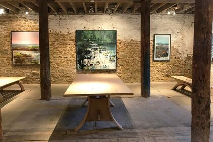 Ways of Seeing Landscape: paintings by Martyn Brewster, Anne Davies, Jo Fox & Anthony Garratt with Petter Southall furniture
