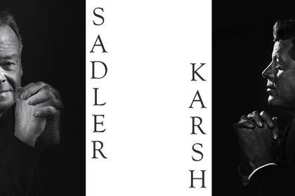 CLASSIC PORTRAITS: Bob Sadler & Yousuf Karsh