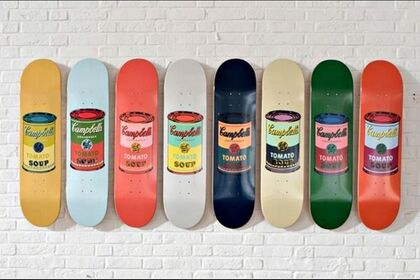 Artist Skateboards and Skate Decks