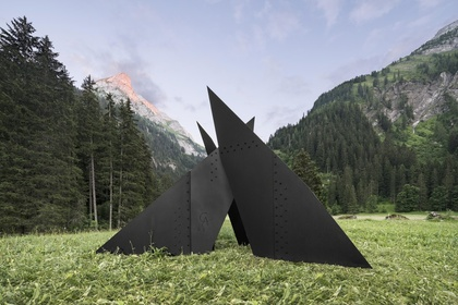 Calder in the Alps