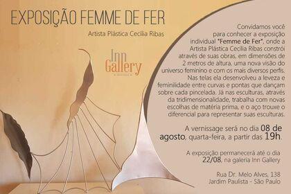 Femme de Fer by Cecilia Ribas