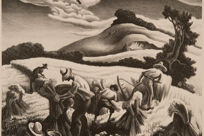 Crossroads: American Scene Prints from Thomas Hart Benton to Grant Wood