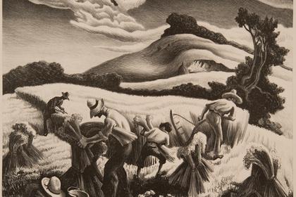 Crossroads: American Scene Prints from Thomas Hart Benton to Grant Wood
