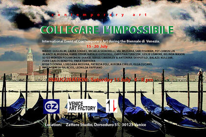 """Connecting the impossible"" (partnered with GaleriaZero)"