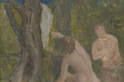 """Pierre Puvis de Chavannes: Paintings and Works on Paper"""