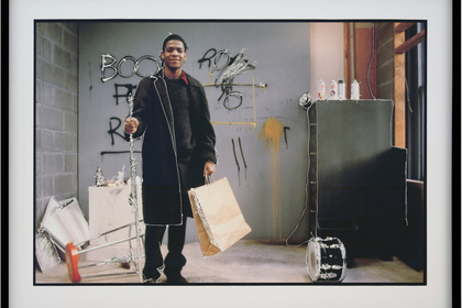 Serena Maisto. Time Line. My Walk with Basquiat