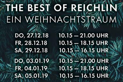 » BEST OF REICHLIN - Ein Weihnachtstraum «