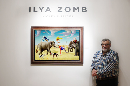 Niches & Spaces | Ilya Zomb | Recent Paintings
