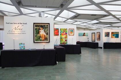 Aloha Expressionism Exhibit with the Hawaii Food & Wine Festival