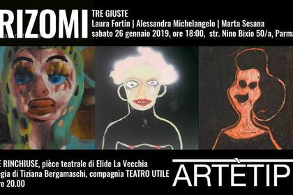 TRE GIUSTE Laura Fortin | Alessandra Michelangelo | Marta Sesana
