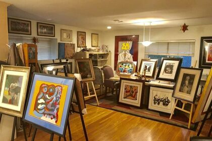 Artsy Grand Opening, Blue Chip Artists
