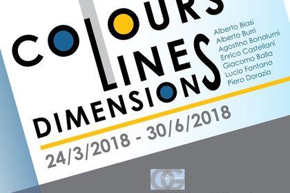 Lines, Colours, Dimensions