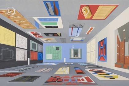 Thomas Huber, recent works