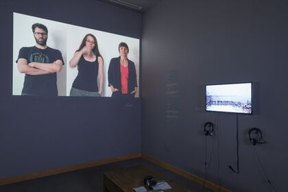 There's No Place Like Time  A Retrospective of Video Artist Alana Olsen