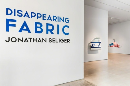 DISAPPEARING FABRIC: Sculpture by Jonathan Seliger