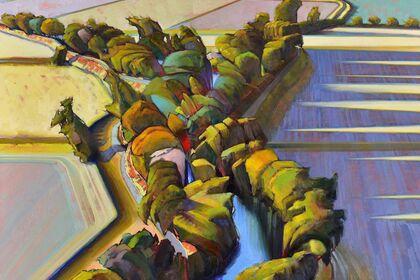 Recent Paintings by Deladier Almeida