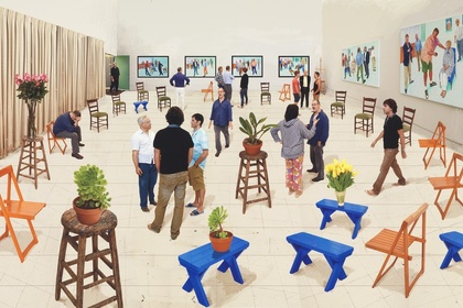 "David Hockney - ""A Matter of Perspective"""