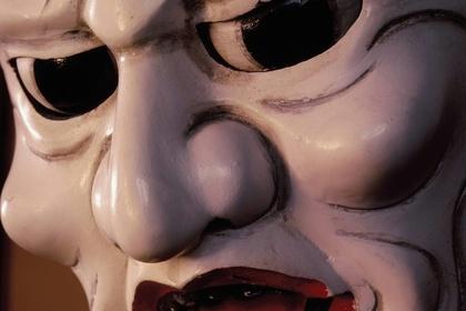 "Shigeo Nishida School ""Spirited face of wooden puppet"" (Awa Puppet Theater)"