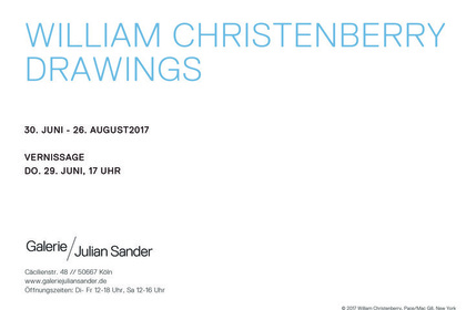 William Christenberry: Drawings