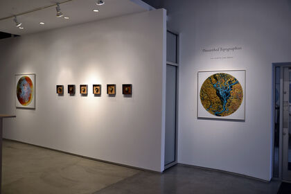 """John Sabraw """"Unearthed Topographies"""""""