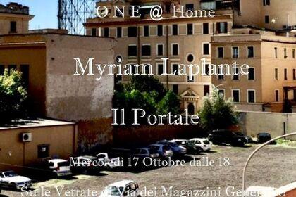 Myriam Laplante 'Il Portale'
