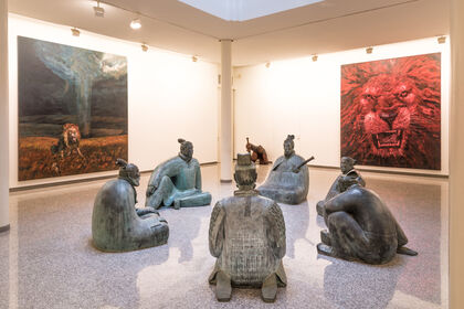 Liu Ruo Wang Paintings and Sculptures 2007 - 2017