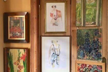 Art at home - the big re-hang