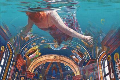 Ivana Živić: Underwater