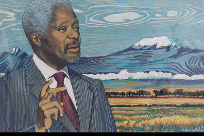 Portrait of Kofi Annan