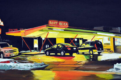 Americana - Diners, Motels & Gas Stations