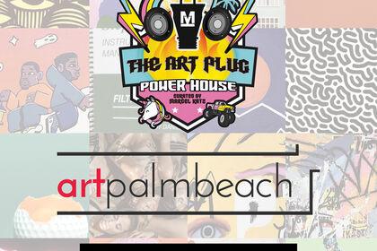 The Art Plug Power House at ArtPalmBeach