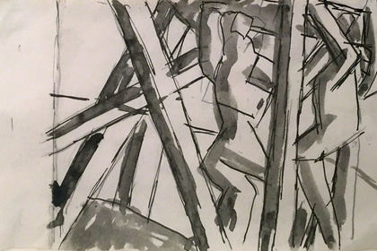 DAVID BOMBERG: Paintings and drawings from a private collection