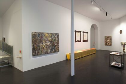 Intérieurs - curated by Sarkis - with works by Eugène Leroy and Sarkis