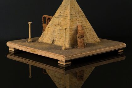 Perspectives of longing - Cork models by Dieter Cöllen