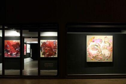 """Yassine Mekhnache """"Peintures Récentes"""""""
