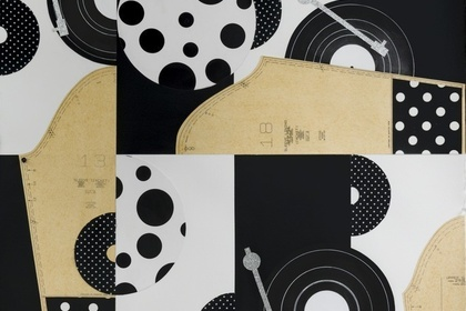 Derrick Adams | Black White and Brown