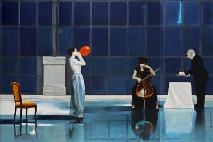 Marek Okrassa. Painting exhibition at the Lviv National Art Gallery