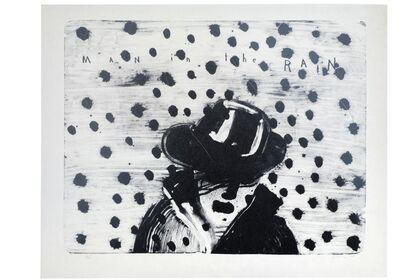 David Lynch | Man in the rain